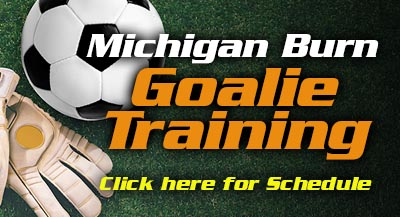 Goalie Training Dates/Times
